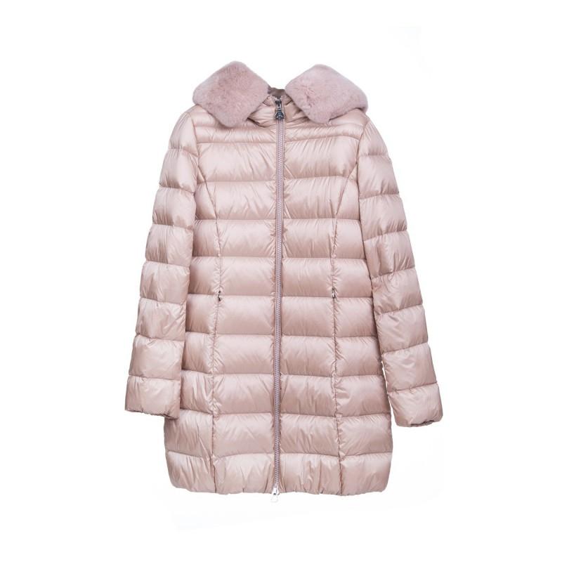 BOSIDENG Różowa kurtka damska z puchem