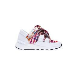 Białe obuwie sportowe CASADEI 2J0001K0201X389H39